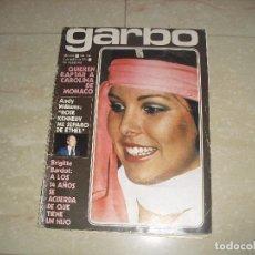 Coleccionismo de Revista Garbo: REVISTA GARBO CAROLINA MONACO ROSE KENNEDY BRIGITTE BARDOT. Lote 139544297