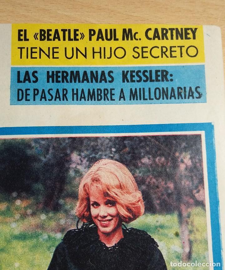 Coleccionismo de Revista Garbo: ANTIGUA REVISTA ORIGINAL GARBO AÑO 1965 REPORTAJE THE BEATLES PAUL MC CARTNEY HIJO SECRETO - Foto 2 - 82773752
