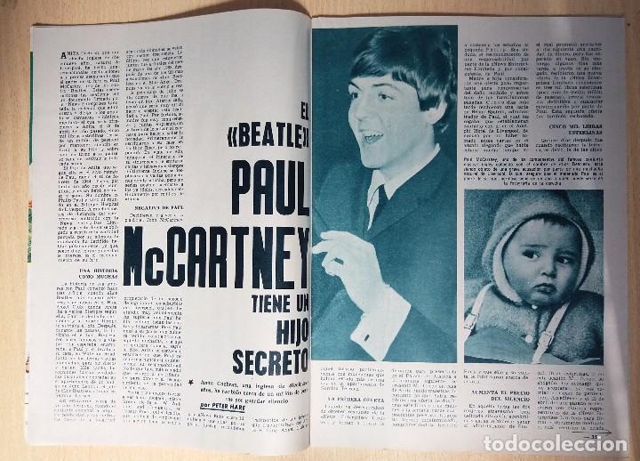 Coleccionismo de Revista Garbo: ANTIGUA REVISTA ORIGINAL GARBO AÑO 1965 REPORTAJE THE BEATLES PAUL MC CARTNEY HIJO SECRETO - Foto 3 - 82773752