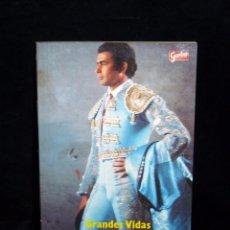 Coleccionismo de Revista Garbo: PAQUIRRI, AMOR, GLORIA, MUERTE. JUAN SOTO VIÑOLO. Nº 4 COLECCIÓN GRANDES VIDAS GARBO, 1984. Lote 86196932
