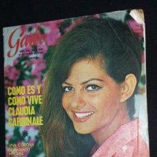 Coleccionismo de Revista Garbo - revista garbo - claudia cardinale - nº 691 - año 1966 - tdkr8 - 86317180