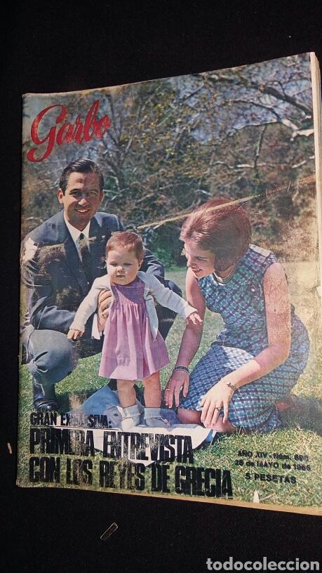 REVISTA GARBO - REYES DE GRECIA - Nº 690 - AÑO 1966 - TDKR8 (Coleccionismo - Revistas y Periódicos Modernos (a partir de 1.940) - Revista Garbo)