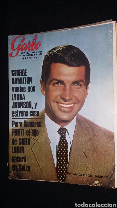 REVISTA GARBO - GEORGE HAMILTON - N 723 - AÑO 1967 - TDKR8 (Coleccionismo - Revistas y Periódicos Modernos (a partir de 1.940) - Revista Garbo)