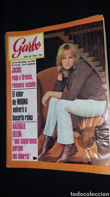 REVISTA GARBO - JACKIE N 768 - AÑO 1967 - TDKR8 (Coleccionismo - Revistas y Periódicos Modernos (a partir de 1.940) - Revista Garbo)