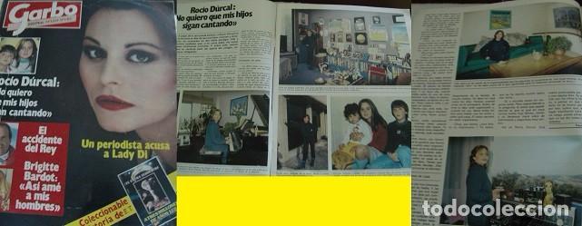 REVISTA GARBO 1983 ROCÍO DÚRCAL (Coleccionismo - Revistas y Periódicos Modernos (a partir de 1.940) - Revista Garbo)