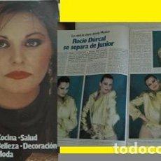 Coleccionismo de Revista Garbo: REVISTA GARBO 1981 ROCÍO DÚRCAL . Lote 90874065