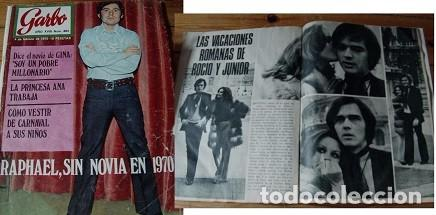 REVISTA GARBO 1970 ROCÍO DÚRCAL RAPHAEL (Coleccionismo - Revistas y Periódicos Modernos (a partir de 1.940) - Revista Garbo)
