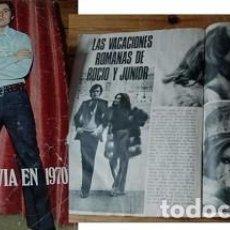 Coleccionismo de Revista Garbo: REVISTA GARBO 1970 ROCÍO DÚRCAL RAPHAEL . Lote 90939520