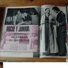 Coleccionismo de Revista Garbo: REVISTA GARBO 1970 ROCÍO DÚRCAL JUNIOR SARA MONTIEL. Lote 90939625