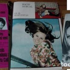Coleccionismo de Revista Garbo: REVISTA GARBO 1967 ROCÍO DÚRCAL. Lote 90939730