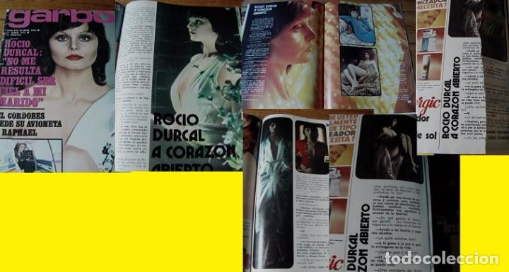 REVISTA GARBO 1973 ROCÍO DÚRCAL (Coleccionismo - Revistas y Periódicos Modernos (a partir de 1.940) - Revista Garbo)