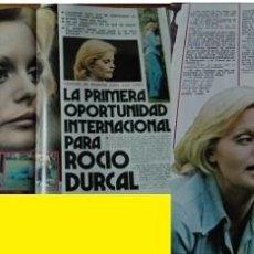 Coleccionismo de Revista Garbo: REVISTA GARBO 1973 ROCÍO DÚRCAL. Lote 90940215
