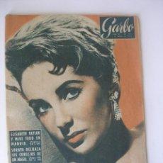 Coleccionismo de Revista Garbo: REVISTA GARBO Nº 259 ELIZABETH TAYLOR MARZO DE 1958 . Lote 93094120