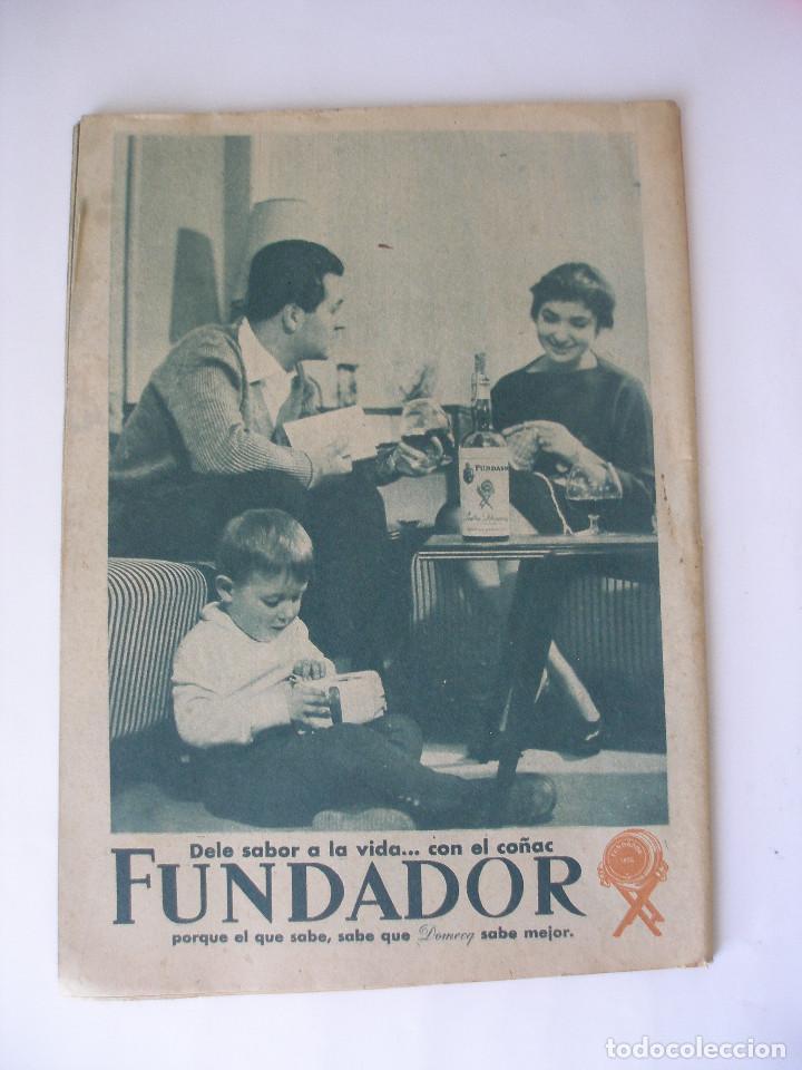 Coleccionismo de Revista Garbo: Revista Garbo nº 259 Elizabeth Taylor marzo de 1958 - Foto 2 - 93094120