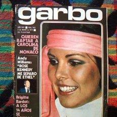 Coleccionismo de Revista Garbo: REVISTA GARBO / CAROLINA DE MONACO, ANTONIO MACHIN, JUAN BAU, TONY RONALD, ARTURO FERNANDEZ ++. Lote 93103370