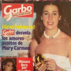 Coleccionismo de Revista Garbo: REVISTA GARBO, AÑO 1983, NÚMERO 1587. CARMEN BORDIU. Lote 93719350