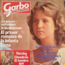 Coleccionismo de Revista Garbo: REVISTA GARBO, AÑO 1983, NÚMERO 1592. PRIMER ROMANCE INFANTA ELENA . Lote 93719430