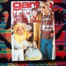 Coleccionismo de Revista Garbo: GARBO / MARISOL, AGATA LYS, SARA MONTIEL, SILVIA TORTOSA, MANOLO OTERO, SHARON TATE, GRACE KELLY. Lote 95522563