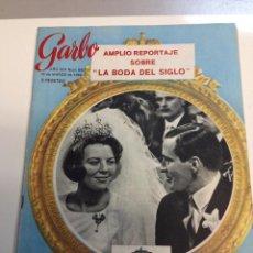 Coleccionismo de Revista Garbo: GARBO, Nº 680 DE 19 DE MARZO DE 1966. LA BODA DEL SIGLO, BEATRIZ Y CLAUS DE HOLANDA (Z). Lote 95736987