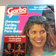 Coleccionismo de Revista Garbo: REVISTA GARBO - Nº 1659 - 1985 - CAROLINA DE MÓNACO, JULIO IGLESIAS, ISABEL PANTOJA (Z). Lote 95738155