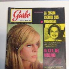 Coleccionismo de Revista Garbo: REVISTA GARBO Nº 752 -5 - AGOSTO -1967 (Z). Lote 95738635