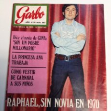 Coleccionismo de Revista Garbo: REVISTA GARBO - Nº 883 - 4-FEBRERO-1970 -RAPHAEL, JOHN LENNON (Z). Lote 95770767