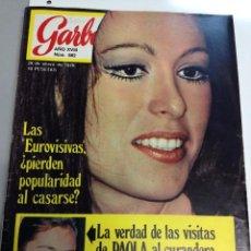 Coleccionismo de Revista Garbo: REVISTA GARBO Nº 882 - 28-01-1970 PORTADA MASIEL (Z). Lote 95770883