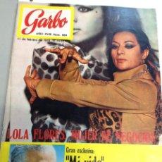 Coleccionismo de Revista Garbo: GARBO Nº 884 11/02/1970 LOLA FLORES (Z). Lote 95770979