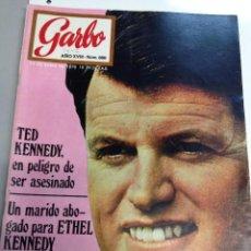 Coleccionismo de Revista Garbo: GARBO Nº 880 14/01/1970 LOS KENNEDY (Z). Lote 95771087