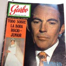 Coleccionismo de Revista Garbo: REVISTA GARBO - Nº 881 -21 ENERO- 1970 LA BODA DE ROCIO JUNIOR (Z). Lote 95771299
