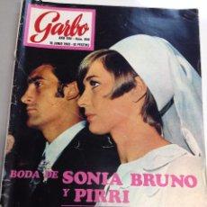 Coleccionismo de Revista Garbo: REVISTA GARBO, Nº 850- 18 JUNIO - 1969, BODA DE SONIA BRUNO Y PIRRI. Lote 95771415