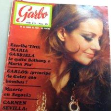 Coleccionismo de Revista Garbo: GARBO Nº 851 25/06/1969 JHONNY HALLYDAY - LLUIS LLACH (Z). Lote 95771615