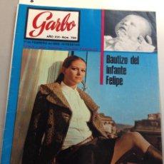 Coleccionismo de Revista Garbo: GARBO Nº 780 17-02-1968 COCO CHANEL - CLAUDIA CARDINALE- ELVIS (Z). Lote 95771719