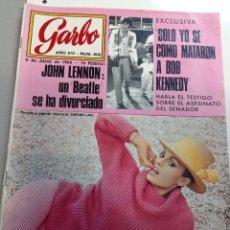 Coleccionismo de Revista Garbo: REVISTA GARBO - Nº 800 -6 JULIO 1968 - DALIAH LAVI- JOHN LENNON (Z). Lote 95772159