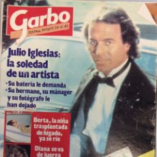 Coleccionismo de Revista Garbo: GARBO 1679/24 JUNIO 1985 JULIO IGLESIAS~LOLITA FLORES~LLUIS LLACH~INFANTA CRISTINA. Lote 95794875