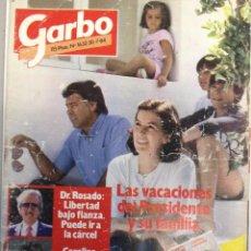 Coleccionismo de Revista Garbo: REVISTA GARBO 1632 30-7- 1984. FELIPE GONZÁLEZ -CAROLINA DE MÓNACO- ROCÍO DÚRCAL (Z). Lote 95795195