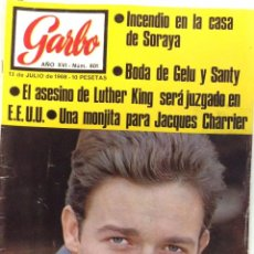 Coleccionismo de Revista Garbo: REVISTA GARBO Nº. 801 . 13 JULIO 1968 .. Lote 95795851