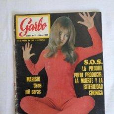 Coleccionismo de Revista Garbo: MARISOL ~ SOFIA LOREN ~ PIERRE BAROUH ... GARBO 1969. Lote 95827242