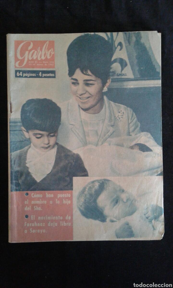 REVISTA GARBO 524, 1963 (Coleccionismo - Revistas y Periódicos Modernos (a partir de 1.940) - Revista Garbo)