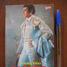 Coleccionismo de Revista Garbo: PAQUIRRI -JUAN SOTO VIÑOLO - AMOR GLORIA MUERTE - GARBO. Lote 196665367
