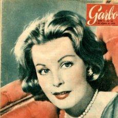 Coleccionismo de Revista Garbo: GARBO Nº 62 OCTUBRE DE 1954. Lote 97656039
