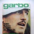 Coleccionismo de Revista Garbo: REVISTA GARBO Nº 1042. AÑO XXI. 18 DE ABRIL 1973. MURIO PICASSO. EL GENIO DEL SIGLO XX. TDKR32. Lote 97986691