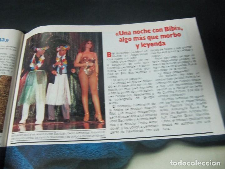 Coleccionismo de Revista Garbo: GARBO 5/85 UN DOS TRES BERTIN OSBORNE MAYRA PRINCE BIBI ANDERSEN VICTORIA VERA MARI TRINI SERIE V - Foto 4 - 98239359