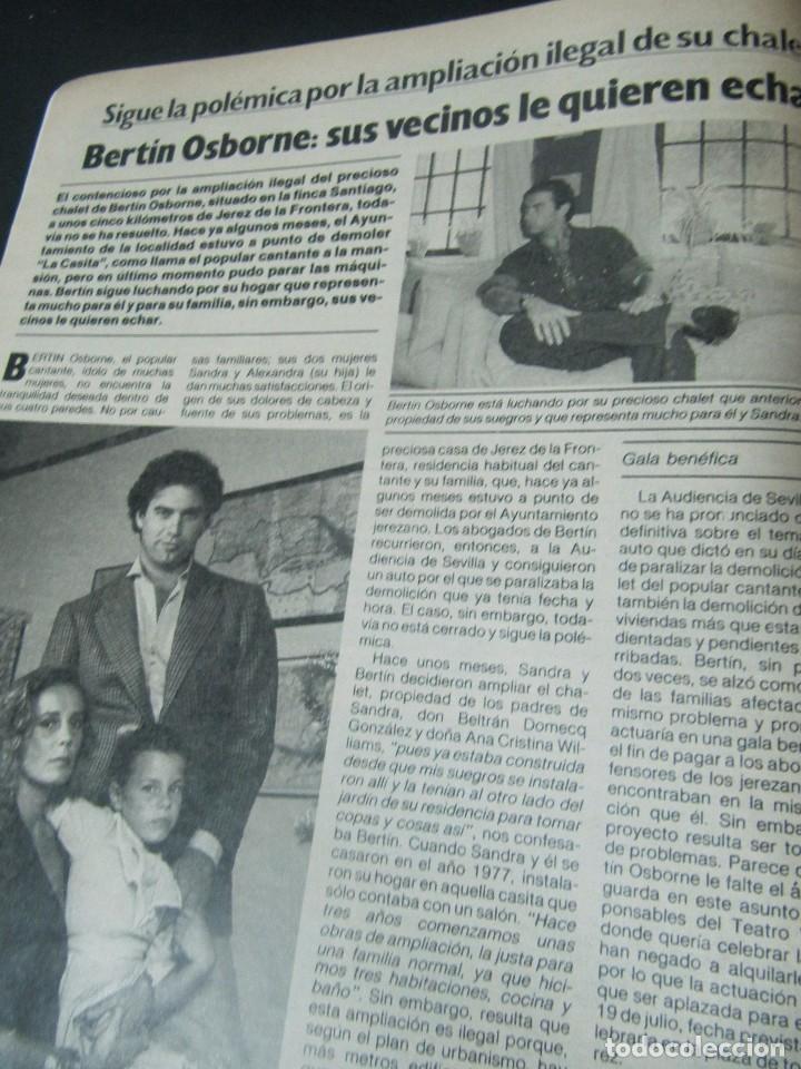 Coleccionismo de Revista Garbo: GARBO 5/85 UN DOS TRES BERTIN OSBORNE MAYRA PRINCE BIBI ANDERSEN VICTORIA VERA MARI TRINI SERIE V - Foto 5 - 98239359