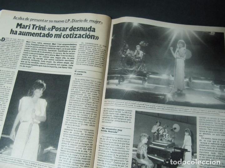 Coleccionismo de Revista Garbo: GARBO 5/85 UN DOS TRES BERTIN OSBORNE MAYRA PRINCE BIBI ANDERSEN VICTORIA VERA MARI TRINI SERIE V - Foto 11 - 98239359