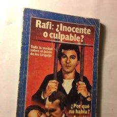Coleccionismo de Revista Garbo: RAL295 ANTIGUO LIBRO AÑOS 70 GARBO QUIEN MATO A LOS MARQUESES DE URQUIJO? RAFI. Lote 98584823