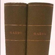 Coleccionismo de Revista Garbo: REVISTA GARBO ENCUADERNADA AÑO 1955 (II TOMOS). Lote 98777843