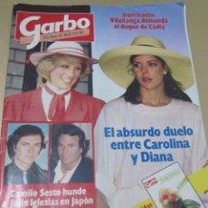 Coleccionismo de Revista Garbo: GARBO 6/85 CAMILO SESTO RUIZ MATEOS ALFREDO MAYO CARTIER ROSALIA DANS GOYA ROCIO JURADO . Lote 98812719