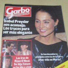 Coleccionismo de Revista Garbo: GARBO 2/85 LENNON LLUIS LLACH JOHN MCENROE DUQUESA DE ALBA ISABEL PREYSLER. Lote 98821359