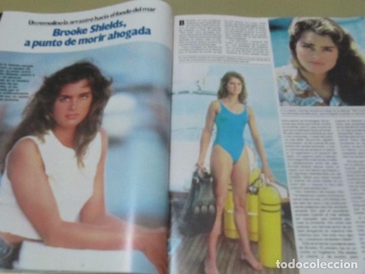 Coleccionismo de Revista Garbo: GARBO 12/84 LIZA MINELLI ABBA CORDOBES BROOKE SHIELDS ESTEFANIA DE MONACO TRUFFAUT HEPBURN - Foto 7 - 98908507